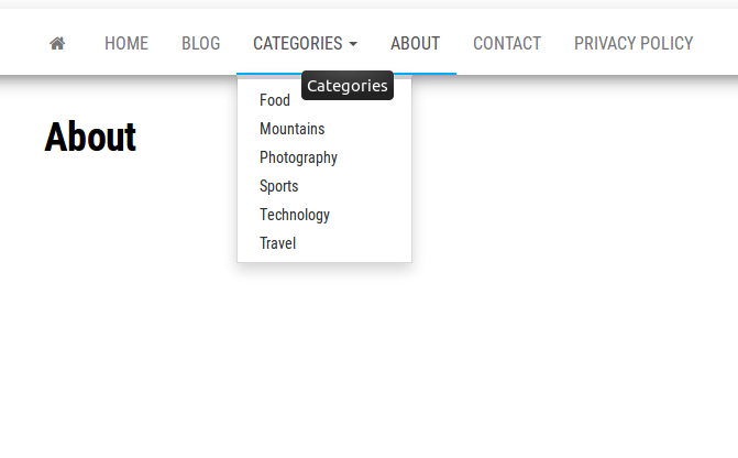 "How to Create a ""Categories"" Dropdown Menu in WordPress"